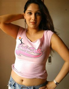 Ankitha Hot Navel Photo 2011