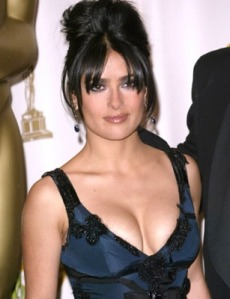 Hot Salma Hayek, Latest, Unseen, Sizzling, Pics, Pictures & Wallpapers 2011